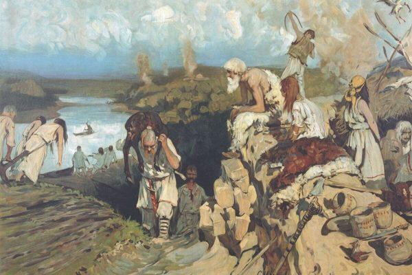 Жилье восточных славян, Иванов Сергей Васильевич, 1907